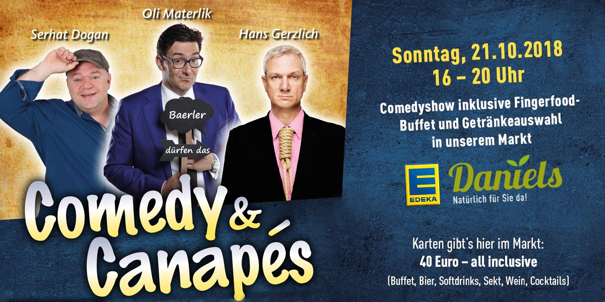 Comedy & Canapes